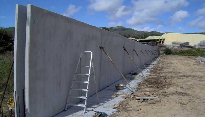 muros portantes de hormigón